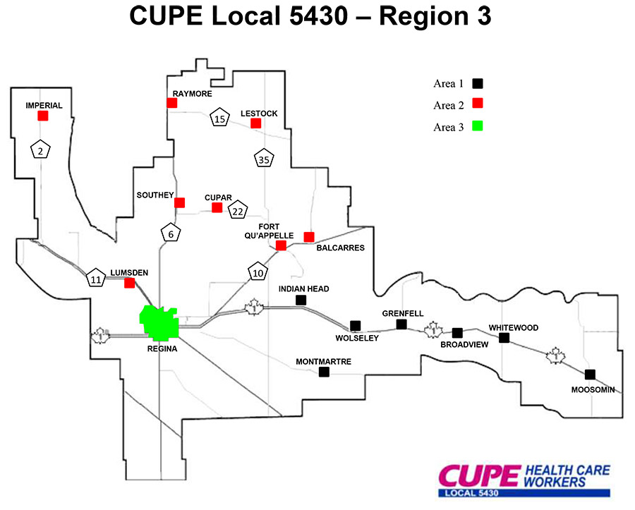 region 3 cupe 5430