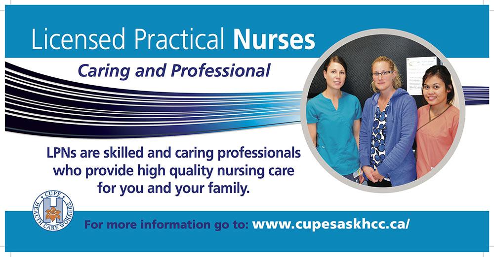 Lpns Cupe Local 5430 Health Care Union Saskatchewan