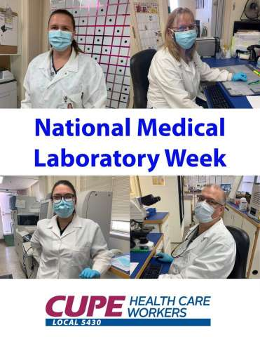 Medical Laboratory Professionals - Thank You!